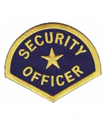 Security Officer Uniform Patch, Law Enforcement Patches