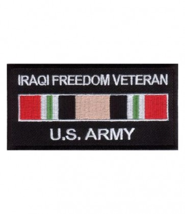U.S. Army Iraq Vet Service Ribbon Patch, Military Patches