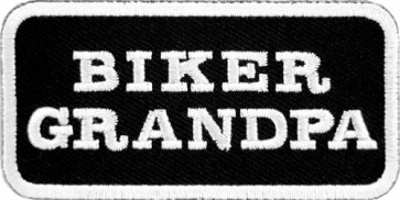 Biker Grandpa Patch, Biker & Motorcycle Patches