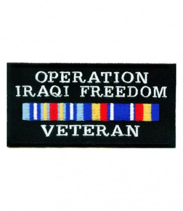 Operation Iraqi Freedom Patch, OIF Veteran Patches