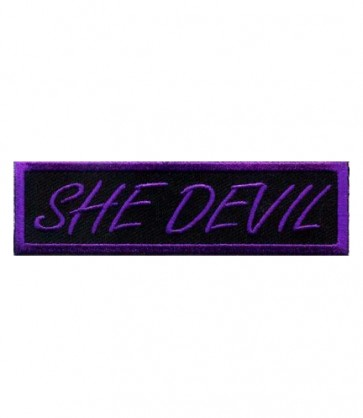 She Devil Purple Patch, Ladies Biker Patches