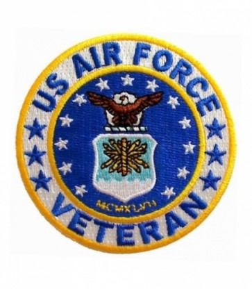 Air Force Logo Veteran Patch, U.S. Air Force Patches