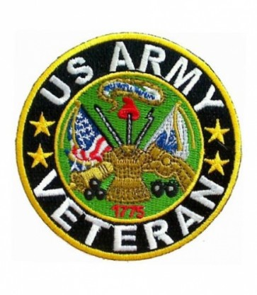 U.S. Army Logo Veteran Patch, Military Veteran Patches