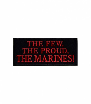 The Few The Proud The Marines Patch, Military Patches