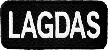 LAGDAS Let's All Get Drunk Patch, Dirty Sayings Patches