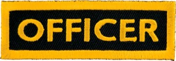 Officer Yellow Patch, Club Rank Patches