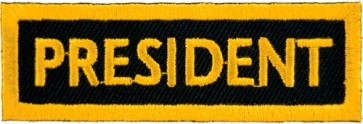 President Yellow Patch, Club Rank Patches