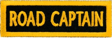Road Captain Yellow Patch, Club Rank Patches