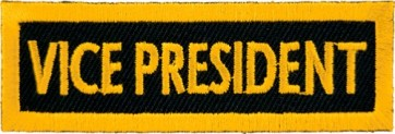Vice President Yellow Patch, Club Rank Patches