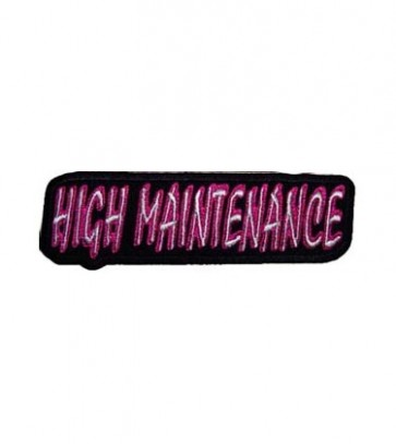 High Maintenance Purple Patch, Ladies Patches