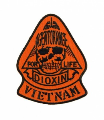 Vietnam Agent Orange For Life Patch, Military Patches