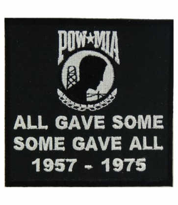 POW MIA All Gave Some 57-75, POW MIA Patches
