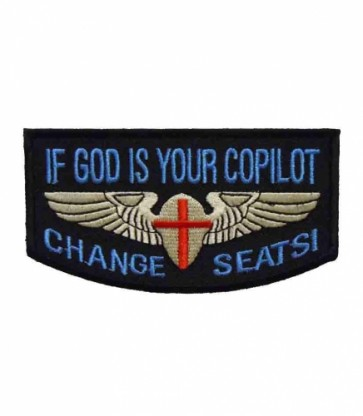 If God Is Your Co-Pilot Patch, Religious Patches