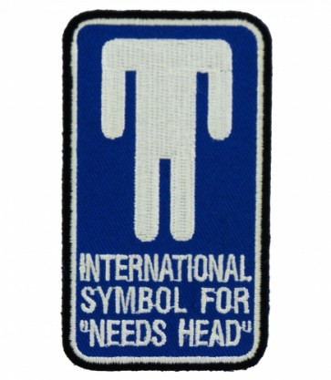 International Symbol Needs Head Patch, Dirty Patches