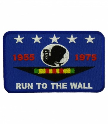 POW Vietnam Run To The Wall Patch, Vietnam Patches