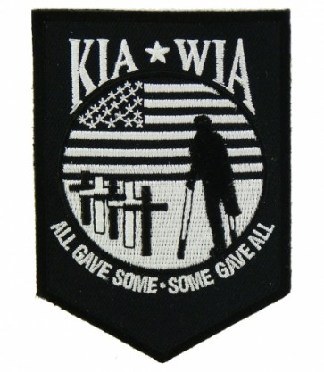 KIA WIA All Gave Some Patch, Fallen Hero Patches