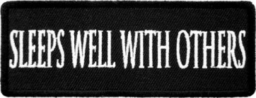Sleeps Well With Others Patch, Funny Patches