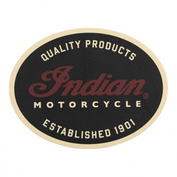 Indian Motorcycle Quality Leather 1901 Genuine Leather Patch