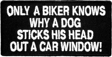 Only A Biker Knows Patches