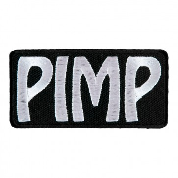 Pimp Embroidered Sew On & Iron On Patch