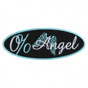 Zero Percent Angel Patch With Angel Wings