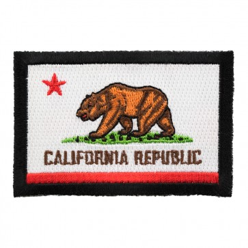 California State Flag Embroidered Iron On Patch