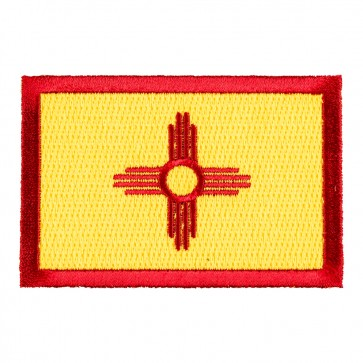 New Mexico State Flag Embroidered Patch For Sale