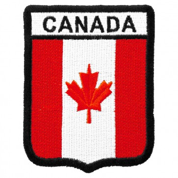 Canada Flag Shield Patch