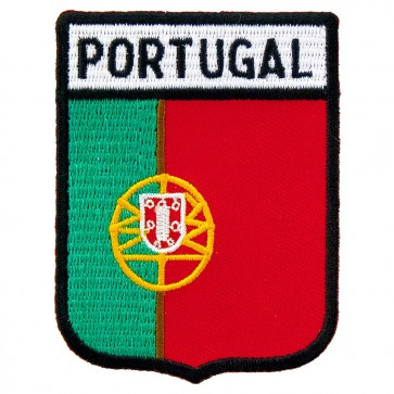 Portugal Flag Shield Patch