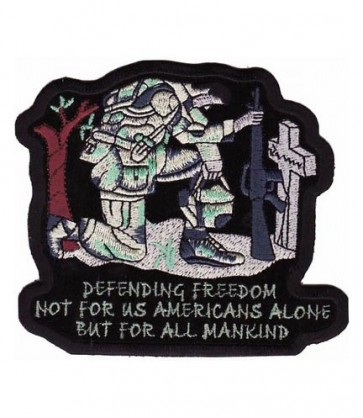 Defending Freedom Soldier Patch, Fallen Hero Patches