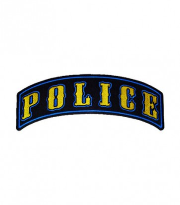 Police Rocker Patch, Law Enforcement Patches