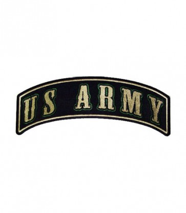 U.S. Army Green Rocker Patch, Military Rocker Patches