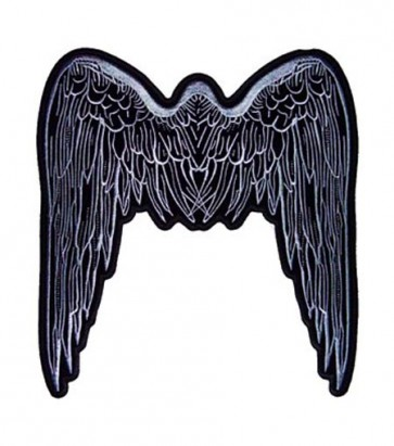 Grey Angel Wings Patch, Spiritual Patches