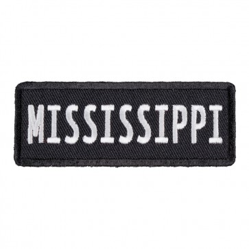 Iron On Mississippi State Patch