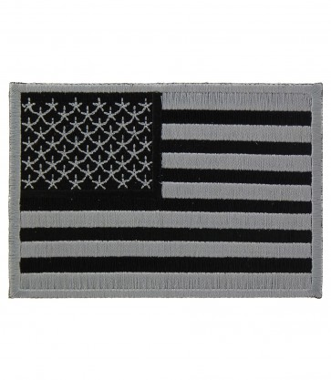 American Flag Grey Subdued Patch, U.S. Flag Patches