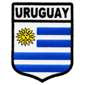 Uruguay Flag Shield Patch