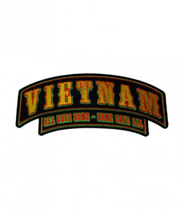 Vietnam All Gave Some Rocker Patch, Military Patches
