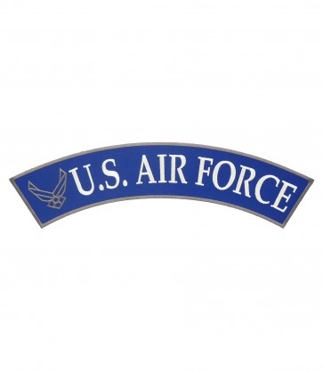 U.S. Air Force Logo Rocker, Military Rocker Patches