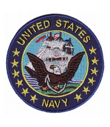 United States Navy Blue Patch, Military Patches