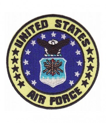 United States Air Force Yellow Patch, Military Patches