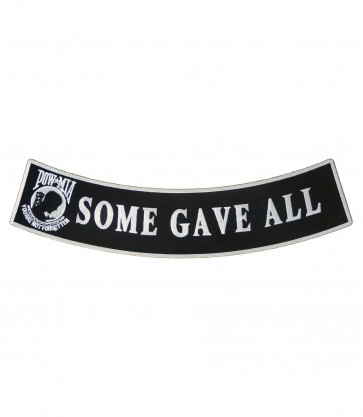 POW Some Gave All Rocker Patch, Military Patches