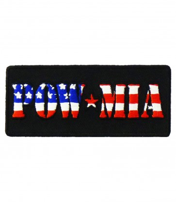 POW MIA US Flag American Patch