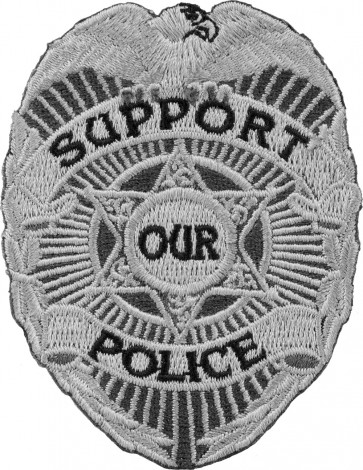 Support Our Police Law Enforement Patches