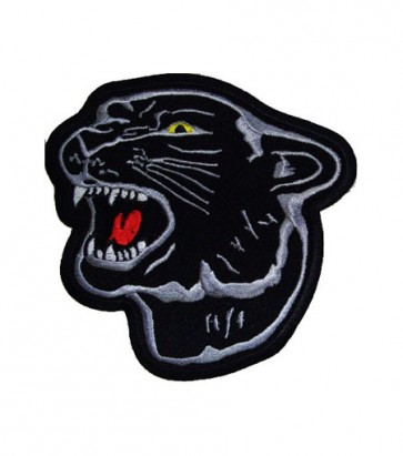 Black Panther Head Patch, Animal Patches