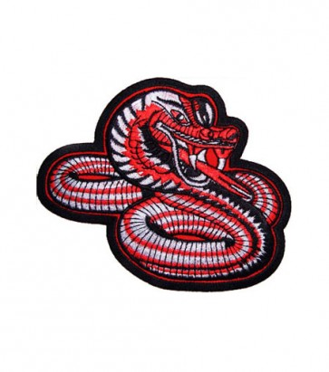 Red & Grey Snake Patch, Snake Patches