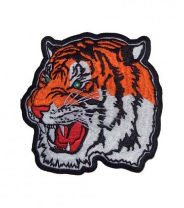 Orange Bengal Tiger Patch, Bengal Tiger Patches