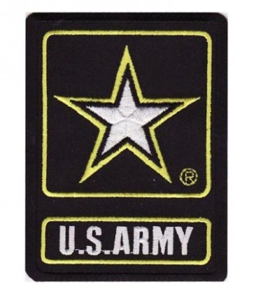 U.S. Army Star Logo Patch, Military Patches