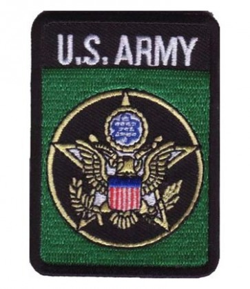 U.S. Army Star Logo Green Patch, Army Patches