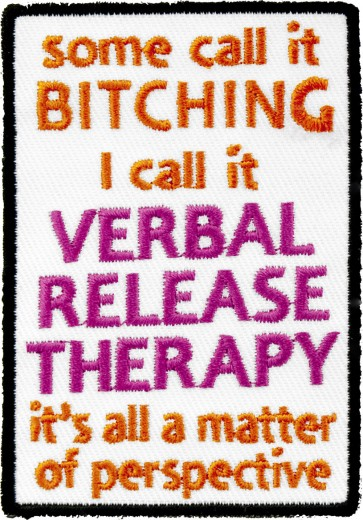 I Call It Verbal Release Thearapy Patch