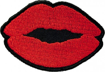 Red Lipstick Red Lips Patch